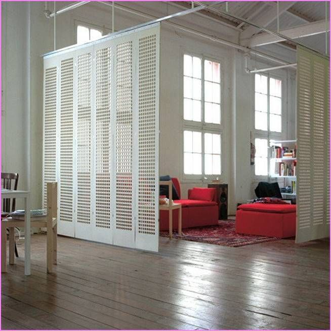 17 best ideas about room divider curtain on pinterest for Homemade room divider ideas