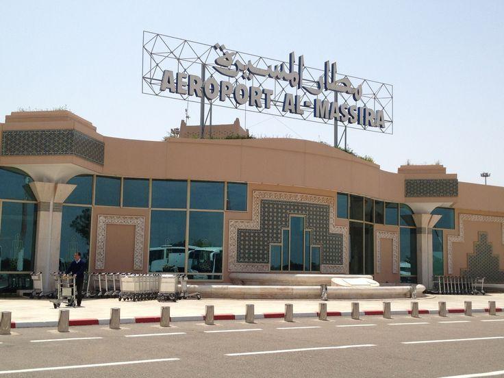 Aeroport Agadir Al Massira (AGA) in أڭادير, Région de Souss-Massa-Drâa