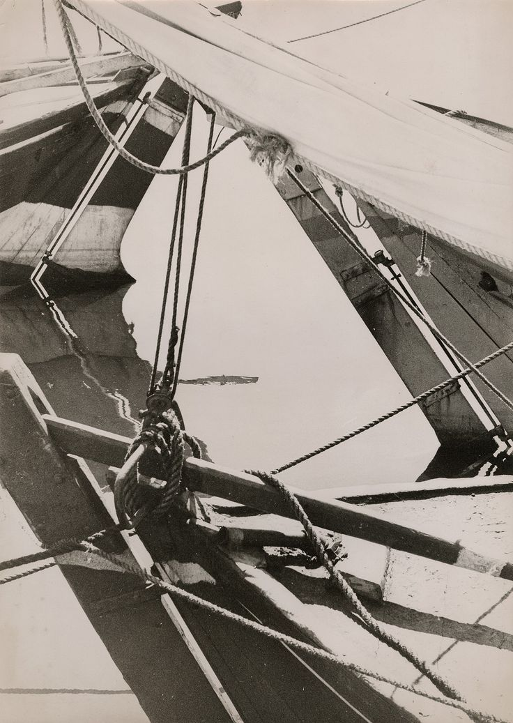 Herbert Matter, Untitled  c. late 1930s, Vintage gelatin silver print