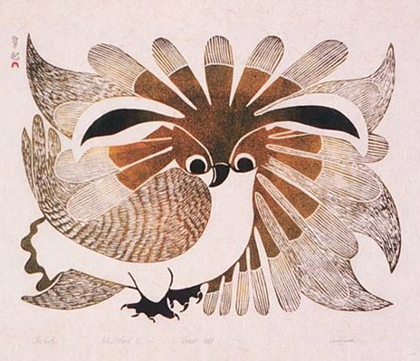 The Owl, by Kenojuak Ashevak, 1969