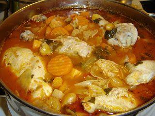 Leon's Mexican Kitchen: Caldo de Pollo Mexicano (Mexican Chicken Soup)