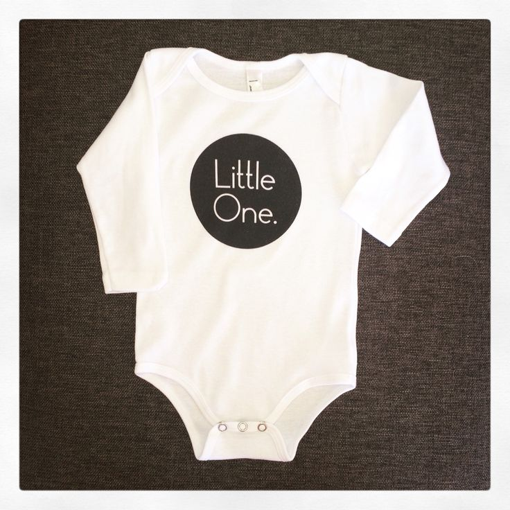 """""""Little One"""" One Piece -Long Sleeve Size 3-24 months (Available in Short Sleeve & Baby T-shirt 3-24mth and Kids T-Shirt 2-12 years) www.redbubble.com/people/sweettdreamers #sweettinydreamer #child #infant #baby #clothing #fashion #babywear #infantfashion #100%cotton #design #graphicdesign"""