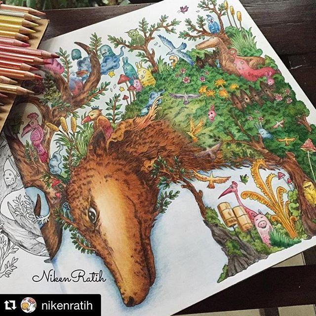 Instagram Post By Komunitas Mewarnai Dewasa Mainwarnasurabaya Colored Pencil TutorialColoring BooksAdult