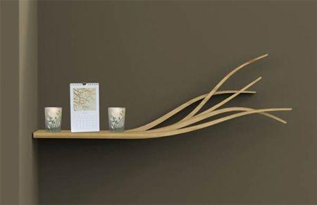 Shelf in the Wind by Olivia Blechschmidt
