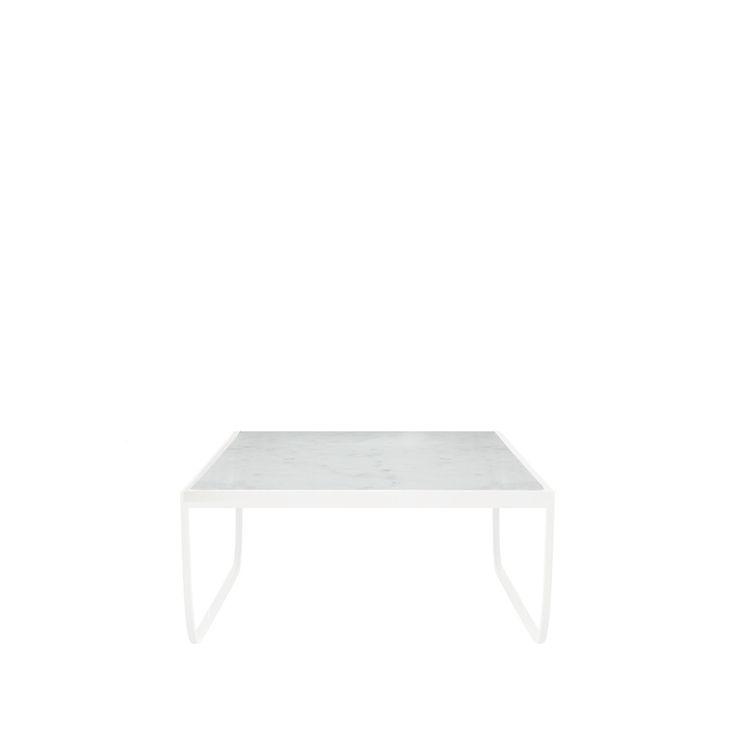 Tati soffbord kvadratiskt - Tati soffbord kvadratiskt - white, marmortopp
