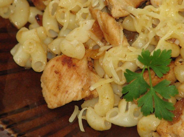 Szybkie danie obiadowe z makaronem i kurczakiem - zdjęcie 3