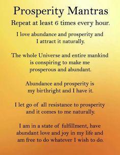 Prosperity Mantras http://www.loapowers.net/category/loa-power/
