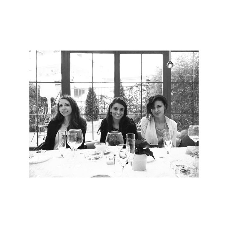 This time it was about lunch. Intel Christmas lunch. Diana Cosmin (Forbes Romania), Ioana Vulpescu (Beau Monde Romania) & Anca Dinculescu (Molecule-F), December 2014, Veranda Casa Frumoasa