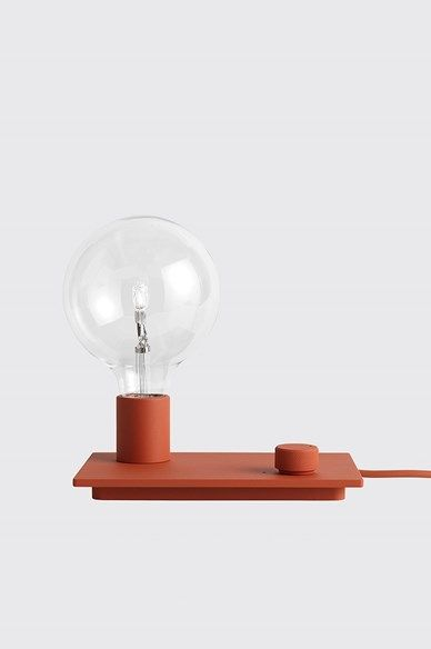 Muuto - Control table lamp Red - Interior
