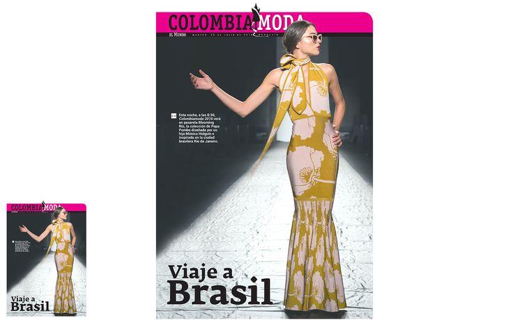 Periódico El Mundo - julio 2016 - Pepa Pombo