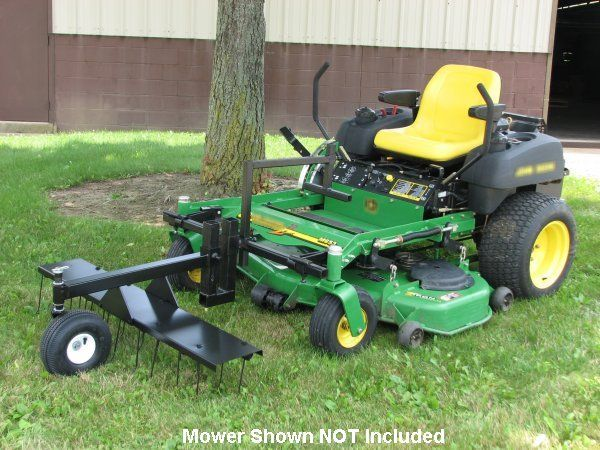 Country Zero Turn Mower Equipment and attachments, snow plows, blades, spreaders, dethatchers and aerators for zero turn radius mowers.