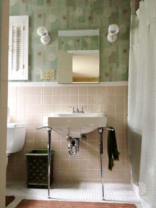 1000 ideas about 1950s bathroom on pinterest american for Bathroom ideas 1950s