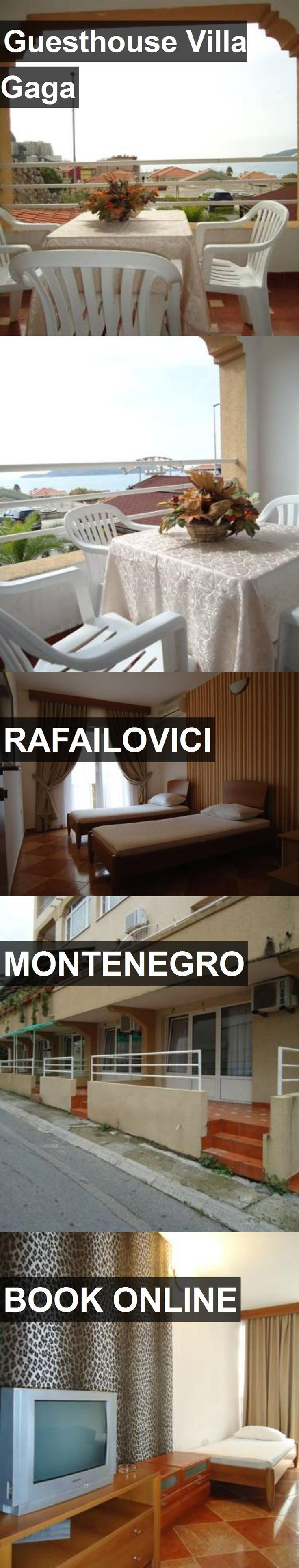 Hotel Guesthouse Villa Gaga in Rafailovici, Montenegro. For more information, photos, reviews and best prices please follow the link. #Montenegro #Rafailovici #travel #vacation #hotel