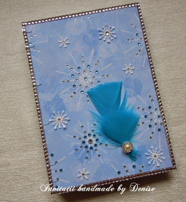 Winter handmade journal