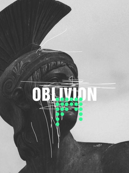 Oblivion Art Print by Frank Moth