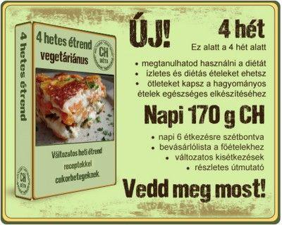 Napi 170 gramm Ch, vegetáriánus