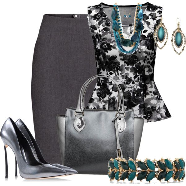Sin título #427 by coromitas on Polyvore featuring polyvore, fashion, style, Jane Norman, H&M, Casadei, Abro and Alexis Bittar