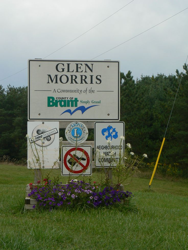 Glen Morris, in Brant County, Ontario, Canada, on the old electric rail line that has become a trail for walking and biking.
