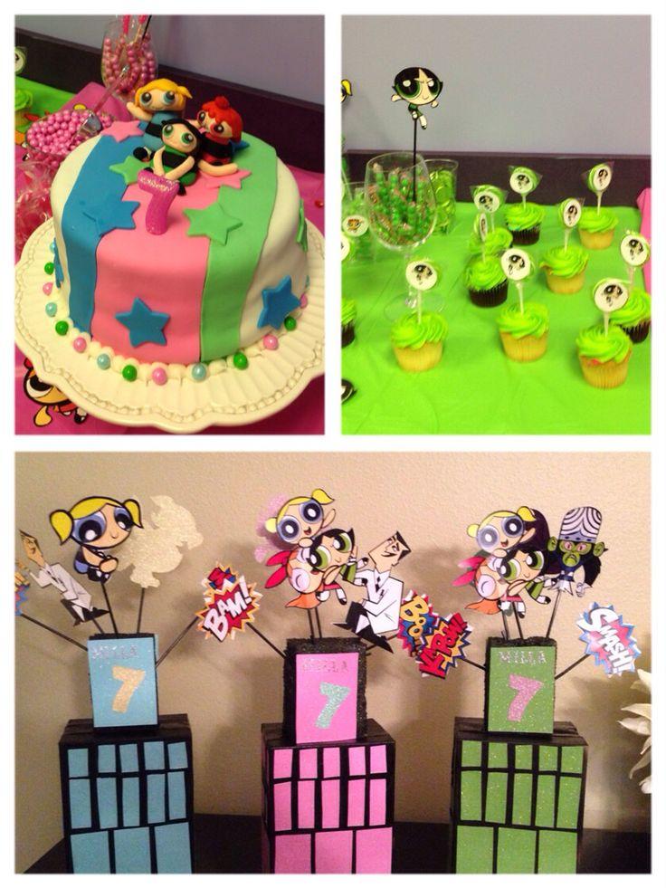 Powerpuff Girls Cake Decorations