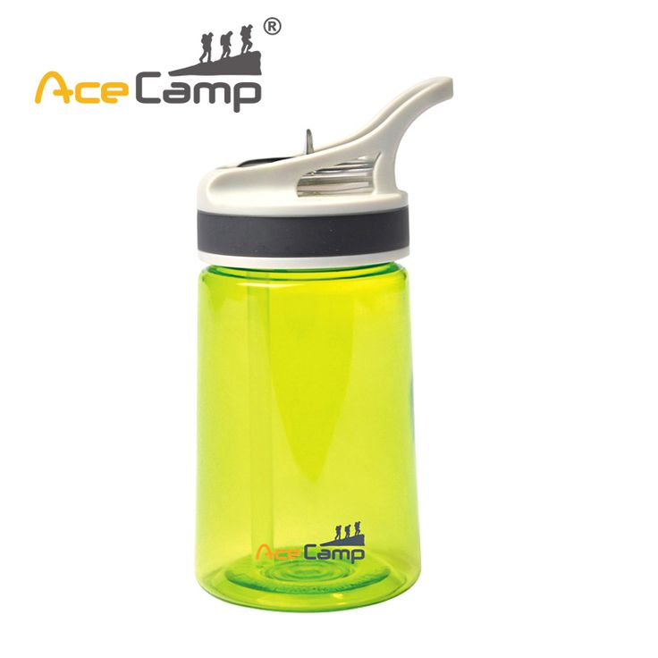 buy acecamp sports cycling tritan bike water bottle straw handle transparent spray suction #water #bottles #for #kids