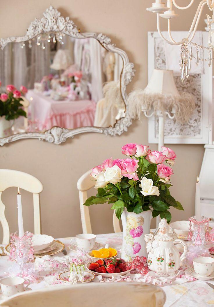 Olivia's Romantic Home: Shabby Chic Dining Room