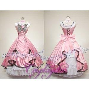 I found 'Black Butler Costume Kuroshitsuji Ciel Cosplay Dress FULL Set Tailor Made Any Size' on Wish, check it out!