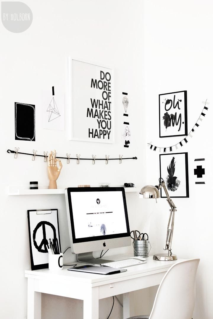 black-and-white-workspace-with-great-display.jpg 720×1,080 pixels