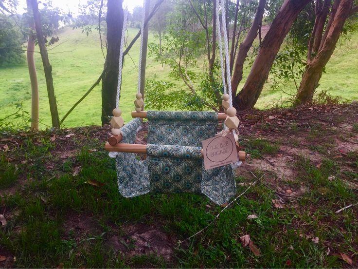 Baby swing, fabric swing.
