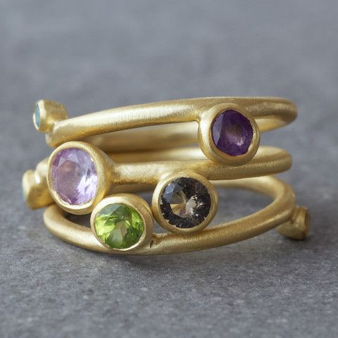 Blend Gold Ring