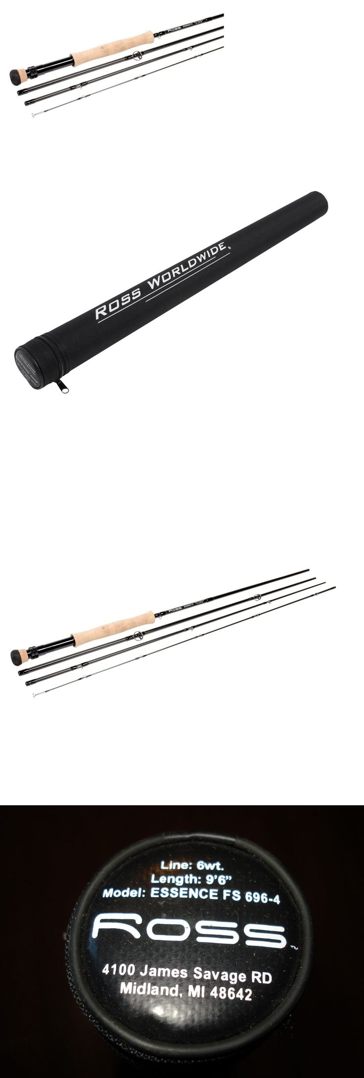 Fly Fishing Rods 23819: Ross Reels Essence Fs 6 Lb 9 6 4 Piece Fly Fishing Rod With Hard Case Fs 696-4 -> BUY IT NOW ONLY: $79.99 on eBay!