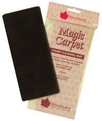 Woodware - MAGIC CARPET - čistící podložka na razítka pro scrapbook - Velikost…