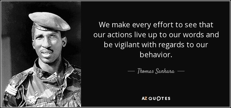 35 QUOTES BY THOMAS SANKARA [PAGE - 2] | A-Z Quotes