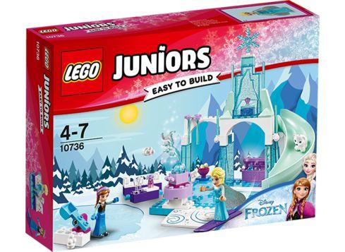 LEGO Juniors 10736 Anna og Elsas frosne legeplads