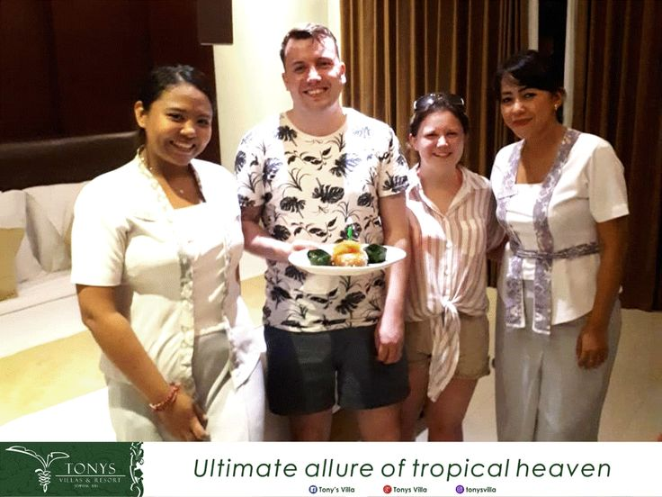 Birthday celebration for Mr. Julian … It such a wonderful day we can deliver a surprise in your special day. Happy birthday for you Mr. Julian, enjoy your birthday, get a happy life and all the best for you.  Truly smiles from Tonys family. . . . #bali #seminyak #tonysvilla #holiday #vacation #travelblogger #triptobali #birthday #celebration #candle #bestwishes #family #happy #lifestyle  www.balitonys.com