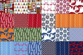 -Shore Thing Fat Quarter Bundle