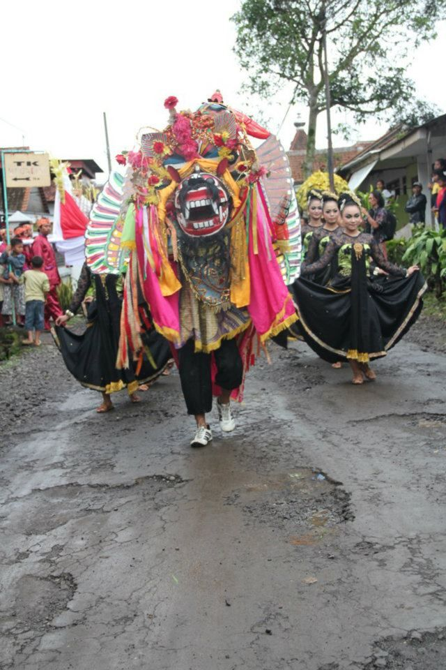 Banyuwangi's Barong, Banyuwangi, East Java, Indonesia.