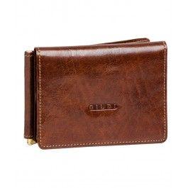 Esti cool si relaxat cu portofelul-portcard Arturo din piele, cu clips de bani