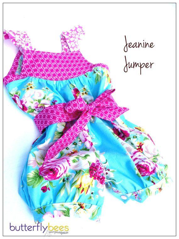 Custom order Jeanine Jumper by Butterflybees on Etsy