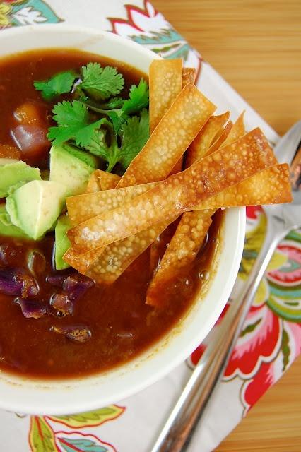 butternut squash and black bean soup | Cookbook! | Pinterest