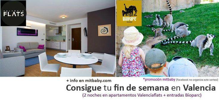 Participa en el #sorteo de un fin de semana en cualquiera de nuestro apartamentos y entradas al #Bioparc.  en el link encontrareis las bases  #Valencia os espera!!