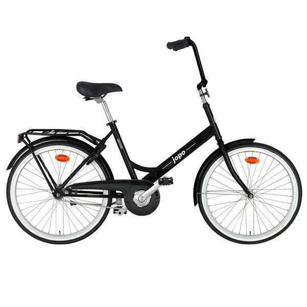 Jopo Bicycle in Glossy Black by Helkama