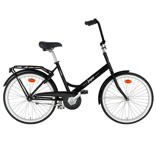 Jopo Bicycle in Glossy Black by Helkama
