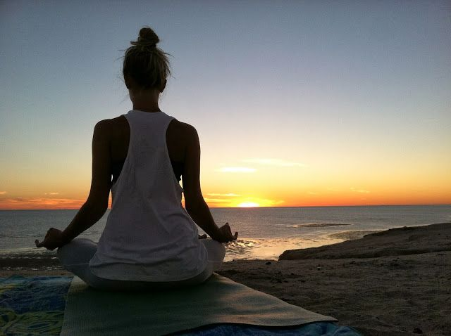 sunrise beach yoga...relax, channel your energy then go forth and inspire!