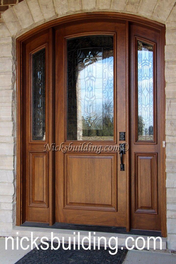 25 Best Ideas About Wood Front Doors On Pinterest Dark Front Door Entry Doors And Farmhouse Door