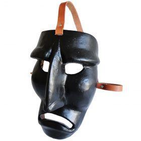 "Mask ""Mamuthones"" 04 Traditional mask of the Mamoiada Carnival (Barbagia, central Sardinia). Made by hand. #madeinitaly #artigianato #mask #maschera"