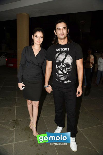 Debina Bonnerjee & Gurmeet Choudhary at Manish Paul's birthday bash in Mumbai