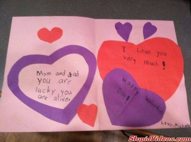 38 best images about Bad Valentines – Funny Homemade Valentines Day Cards