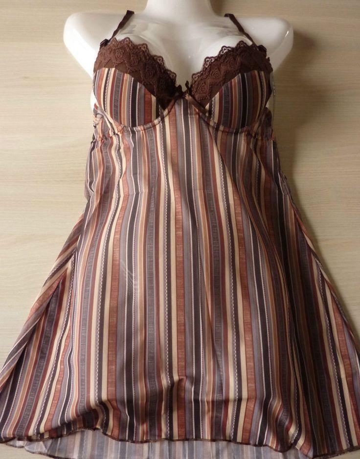 Nuisette combinette lingerie string Taille M-L-XL au choix neuf  sanselle