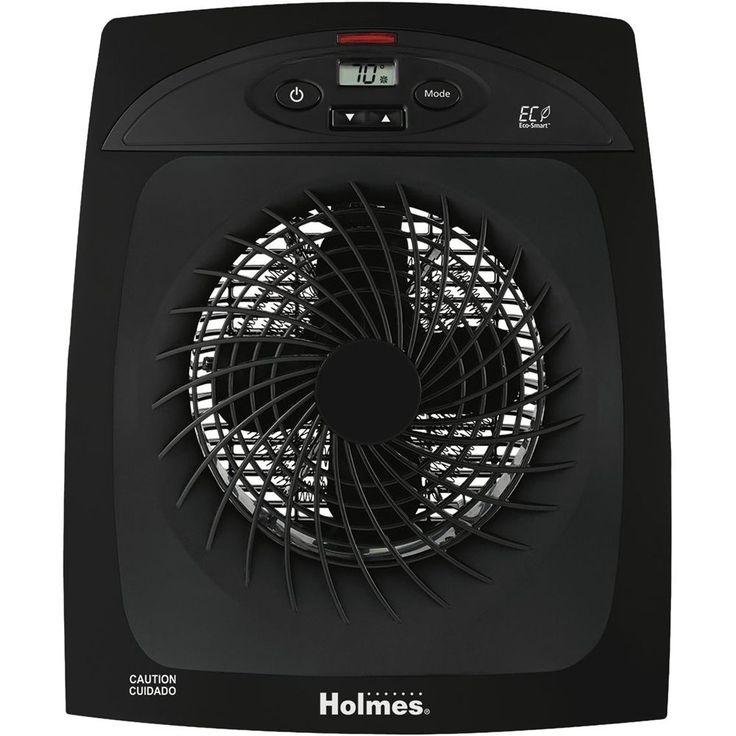 Holmes - Electric Fan Heater - Black
