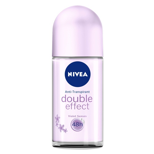 NIVEA Roll-On Double Effect Violet Senses. http://www.nivea.de/Produkte/deo/double-effect/Roll-on-Double-Effect-Violet-Senses #nivea #antitranspirant